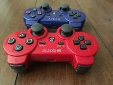 Official Sony PlayStation 3 PS3 DualShock 3 Wireless Controllers OEM Lot of 2