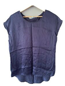 SAMBAG Navy Camisole Top Silk Size S Business Casual