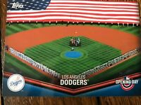 Los Angeles Dodgers 2018 Topps Opening Day Opening Day at the Ballpark Insert