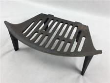 "14"" Single Fire Grate Bottom Base Bow Fronted Cast Iron"