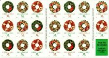 Scott 3252e 32¢ Christmas Wreaths Plate B11111 Mnh Free shipping in the Usa!