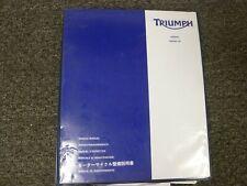 2012-2014 Triumph Trophy SE 1200 Motorcycle Shop Service Repair Manual 2013