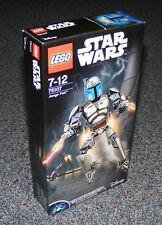 Star Wars Lego 75107 Jango Fett aufbaubarer Figur Brandneu Versiegelt