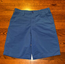 Under Armour Men's Size 30 Blue Golf Nylon Polyester Stretch Shorts