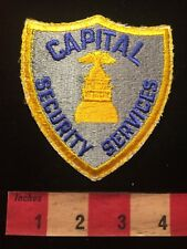 CAPITAL SECURITY SERVICES - Police / Security Type Patch 79T3