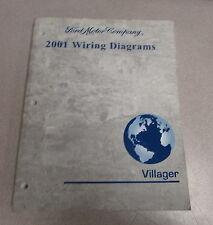 2001 Ford Mercury Villager Van Wiring Diagram Manual