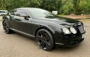 2005 (05) Bentley Continental GT 6.0 W12 Coupe Black Mulliner Spec