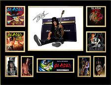 Slash Signed Framed Memorabilia