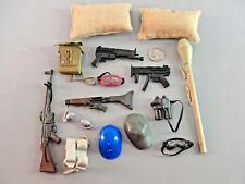 GI JOE 21ST CENTURY RIFLE WEAPON GOGGLES BACK-PACK GUN GRENADE MAP COMBAT LOT 18