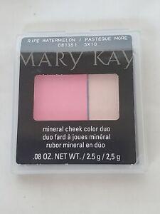 Brand New Mary Kay Mineral Cheek Color Duo ~ Ripe Watermelon NIP