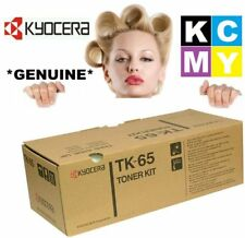 Kyocera GENUINE/ORIGINAL TK-65 Black Printer Cartridge Toner FS-3830N/FS3830N
