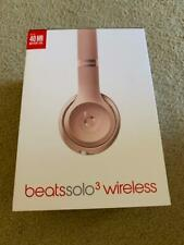 Beats Solo3 Wireless Headphones Rose Gold Empty Box Only -
