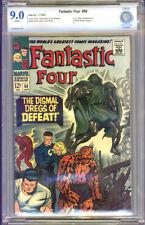 Fantastic Four #58 CBCS 9.0 VF/NM Universal CBCS #7010402-AA-029