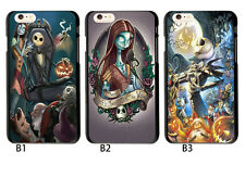 The Nightmare Before Christmas Jack Sally Case Cover For iphone 6 6S 5S 7 8 Plus