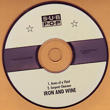 Iron & Wine Arms of Thief promo CD Sub Pop SEALED NEW!