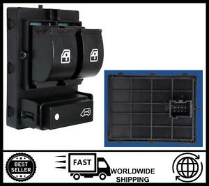 Window Switch FOR Peugeot Boxer, Citroen Relay & Fiat Doblo, Ducato 6490X9