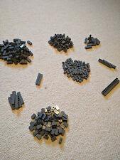 NEW 300 Assorted LEGO Dark Bluish Gray Bricks