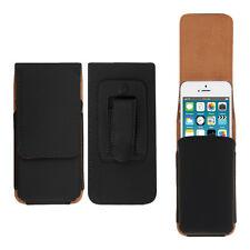 kwmobile Gürtel Tasche für Apple iPhone SE 5 5S Hülle Holster Etui Kunstleder