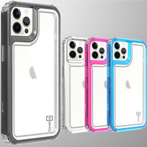 For Apple iPhone 13 Pro Max Phone Case Full Body Tough Military Grade Hard Cover