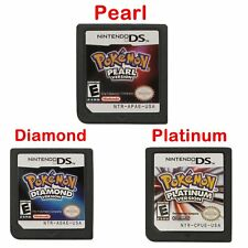 POKEMON Platin Pearl Diamond Version Spielkarte für NS Switch NDS 3DS DSI LITE