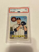 2018 Topps Heritage Eric Lauer RC #685 PSA 9 MINT