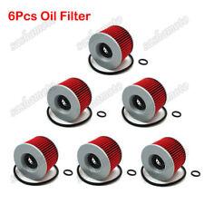 6x Oil Filter For Honda CB550 CB650SC CB750 GL1000 GL1100 GL1200 GL1200A GL1200I