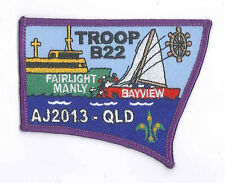 AJ2013 - AUSTRALIA SCOUT NATIONAL JAMBOREE - TROOP B22 SCOUTS BADGE