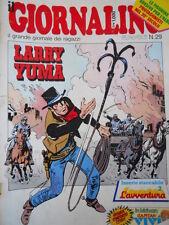 Giornalino 29 1985 Albo Avventura Piccolo Dente di L. Landolfi -Larry Yuma [C19]