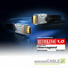 HICON ambience 3m Câble HDMI Highspeed Haute puissance Fin Ethernet 4K 3D