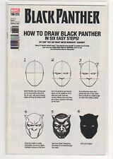Black Panther #166 How To Draw sketch variant 9.6