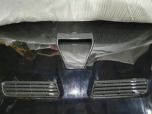 Mitsubishi Lancer/Ralliart/Evo X metal bonnet in black with vent carbon new