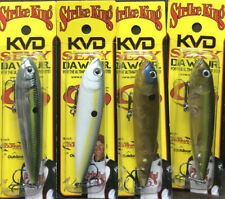 "(Lot Of 4) Strike King KVD Sexy Dawg Jr. 3.75"" 1/2oz Rattle Topwater All New 19P"