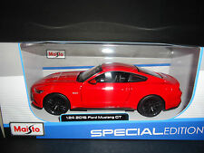 Maisto Ford Mustang GT 2015 Red 1/24