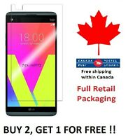 Fits LG V20 Premium Tempered Glass Screen Protector Canada