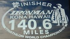 Any year Ironman Triathlon World Championship Kailua Kona Hawaii Finisher Decal