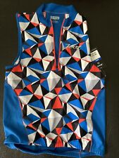 Nwt Zoot - Men's Performance Tri Sleeveless Jersey - Vivid Blue Camo - Medium