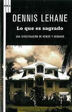 Lo que es sagrado (Serie Negra) (Spanish Edition)-ExLibrary