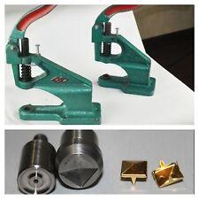 Máquina Prensa de mano y herramienta de plaza pirámide postes Die Set Kit Goth artes y artesanía