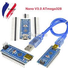 5Pcs USB Nano V3.0 ATMEGA328P CH340G 5V 16M Micro-Controller Board For Arduino