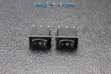 2 PCS MINI ON OFF ON MOMENTARY SPRING KICKBACK ROCKER SWITCH TOGGLE EC-1115PP