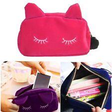 Travel Cosmetic Money Coin Bag Case Organizer Zipper Holder Handbag Toiletry@X