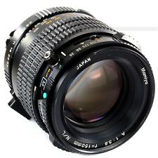 Mamiya A 150mm 1:3.8 N/L leaf shutter lens for 645 Super 645 PRO TL M645 1000s
