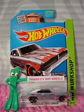 2015 Hot Wheels '74 BRAZILIAN DODGE CHARGER #206☆Walmart J Exclusive ZAMAC 8☆pr5