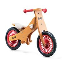Steiff 751004 Steiff Laufrad Classic 80 cm - Fahrrad Übungsrad Balance Bike Holz