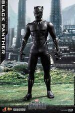 """Hot Toys MMS470 Marvel Black Panther 1/6 Scale 12"""" Figure Chadwick Boseman MIB"""