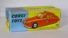 Repro Box Corgi Nr.213 2,4 Jaguar Fire Service Car
