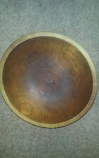 Teak Bowl Munisina 2nd inscribed in bowl!