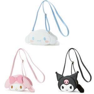Cute Melody Kuromi Cinnamoroll Messenger Bag Crossbody Bag Girls Shoulder Bag