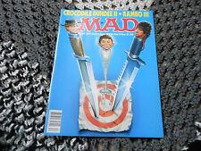 DEC 1988 MAD vintage magazine (UNREAD) - RAMBO - CROCODILE DUNDEE