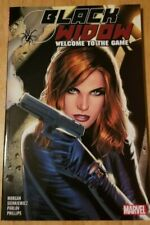 Black Widow: Welcome To The Game By Morgan & Sienkiewicz~ Marvel Tpb
